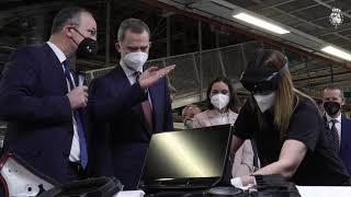 Visita de S.M. el Rey a la fábrica de SEAT en Martorell