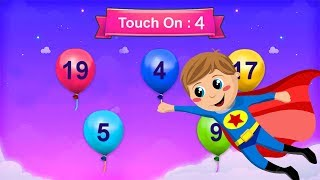 Fun Educational Learning Games For Kids   Learn Colors and Numbers 1 to 20   Fun Videos for Kids