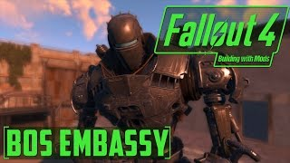 BOS Airport Embassy -Building with Mods -Fallout 4
