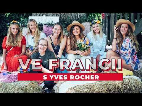 TÝDENNÍ VLOG #24 | Ve Francii s Yves Rocher!