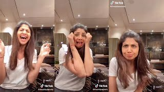 Shilpa Shetty's MOST FUNNY 😂😂😂 Tik Tok Video of 2020