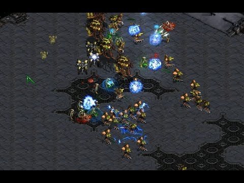 Bisu (P) v Hero (Z) on Circuit Breakers - StarCraft  - Brood War REMASTERED 2019
