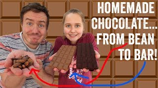 Homemade Chocolate... from Bean to Bar!