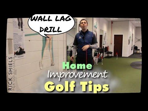 WALL GOLF LAG DRILL – Home Improvement Series