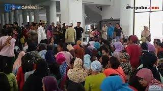 Suasana Potong Kurban Dan Antre Kupon Daging Warga Palembang