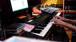 Piano Intro of 'Natural' by Howard Jones (Test)