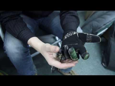 Перчатки флис ламинированный км. Видеообзор.