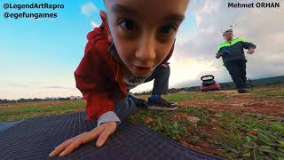 Stop Dikordink :) My Son Tries to Stop Recording of GoPro Camera on top of my FPV Quad