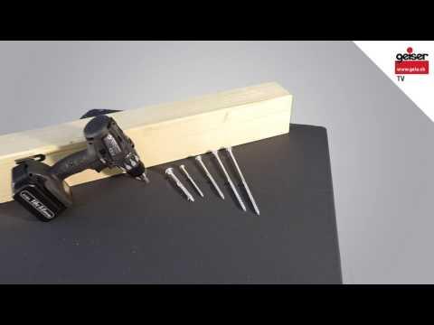RAPID® SuperSenkFix - Holzbauschraube