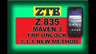 how to bypass google account verification on zte z835 - Thủ