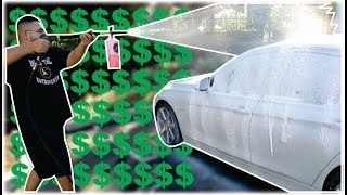 How Much A Mobile Car Detailing Business Makes in 1 Day!!