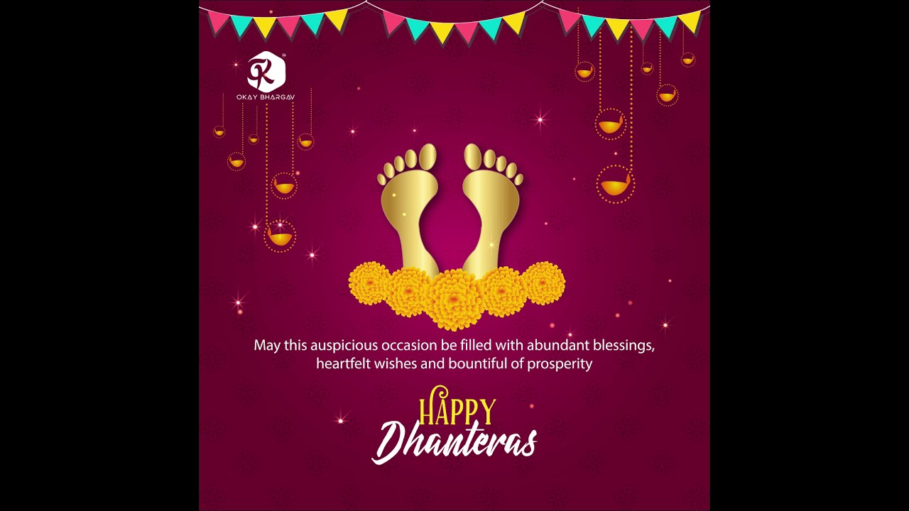 #4 Dhanteras  free after effects templates - after effects - Okay Bhargav