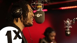 Rocks FOE, Capo Lee And Nico Lindsay With Logan Sama On BBC 1Xtra