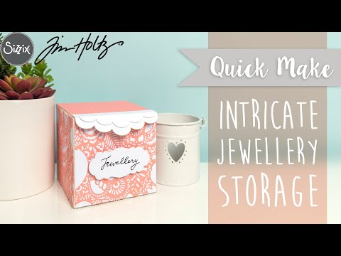 Intricate Jewellery Storage - Sizzix