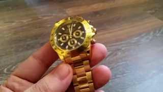Посылка из Китая. Обзор копии часов Rolex.
