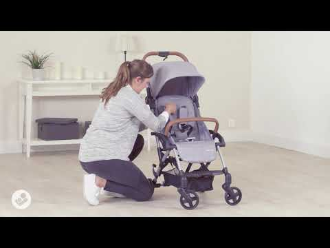 Maxi Cosi Laika Stroller - How to adjust harness height