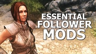 Essential Follower Mods for Skyrim
