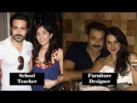 Bollywood Actors And Their Lesser Known Wives Who Prefer A Low-Profile, Stay Away From Limelight