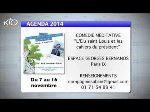 Agenda du 24 octobre 2014