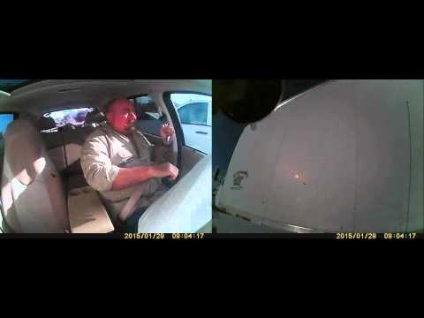Dash Cam Reveals The Human Bouncing That Happens Inside A Car Crash