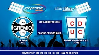⚽ Grêmio Vs. Universidad Católica