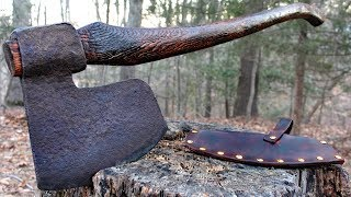 Bearded Axe Restoration - NO Power tools