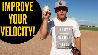 5 Easy Tips to Improve Velocity - (Baseball Throwing Mechanics)