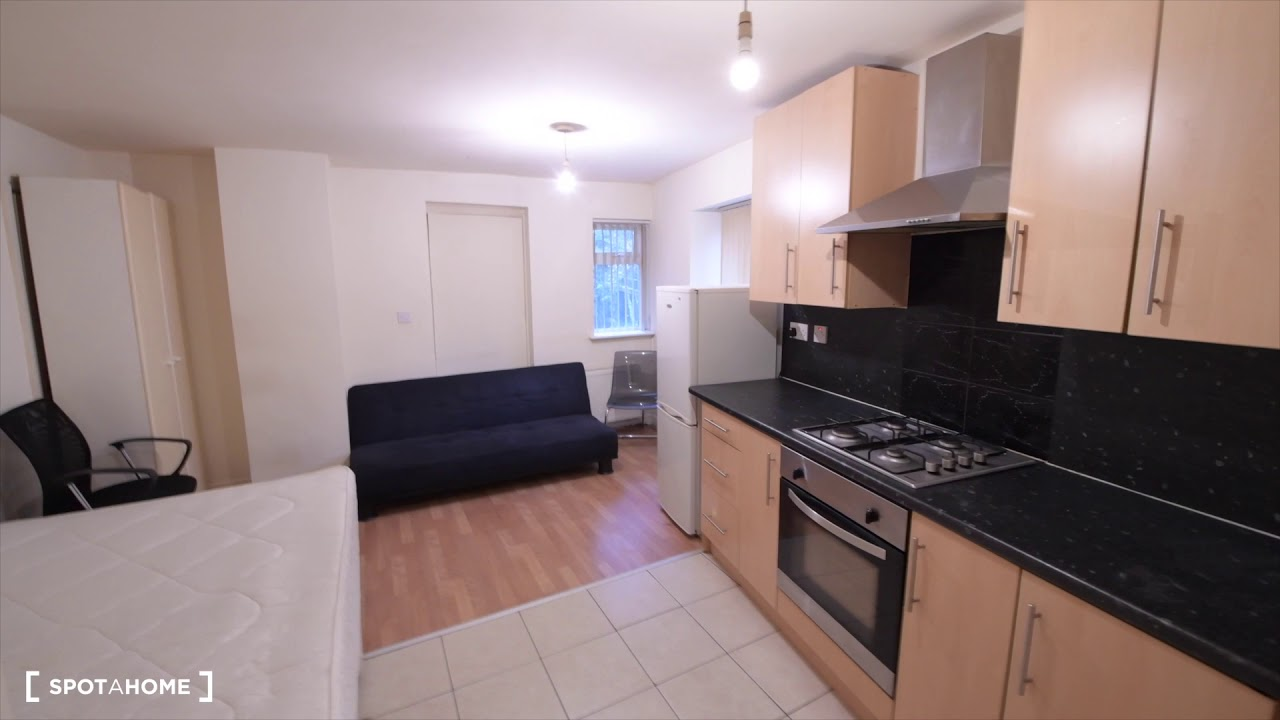 Compact studio apartment to rent in Stroud Green