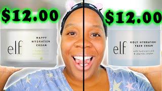 ELF Holy Hydration Face Cream Vs. Cannabis Sativa Happy Hydration Face Cream! FACE CREAM DUPES