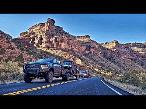 Leaving Las Vegas Defender 6x6 Moab Day 1