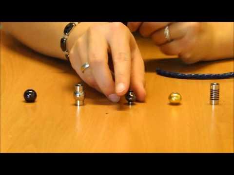 Schlichtes Armband mit Magnetverschluss