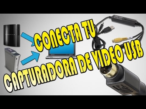 [Tutorial] Como conectar capturadora de vídeo USB con cable S-Vídeo