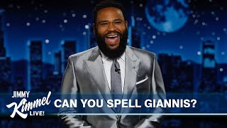 Guest Host Anthony Anderson on Bucks Victory, Spelling Giannis Antetokounmpo & New Olympic Event