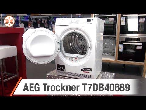 AEG Wäschetrockner T7DB40689 für 555 Euro - experten Angebot der Woche