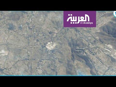 العرب اليوم - شاهد: أول رائد فضاء إماراتي ينشر صورة لمكة من الفضاء