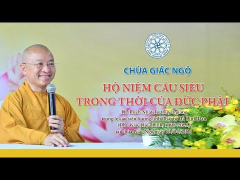 Hộ niệm cầu siêu trong thời đức Phật