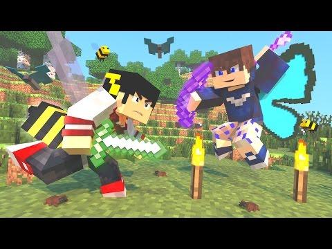 Minecraft Mod: PODER DOS INSETOS - DEFENSE LUCKY BLOCK ‹ AM3NIC ›