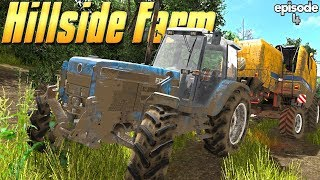 Rescuing The Combine! - Farming Simulator 17 -  Ep.4 (with Wheel Cam)