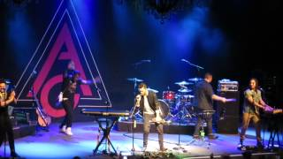 "Andy Grammer ""Holding Out & Trumpets Mash-up"" (Live) @ The Fillmore SF"