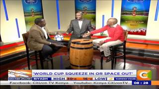 Power breakfast: Man Cave: Ladies,show interest in football-Roy Karuhize
