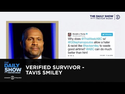 Verified Survivor - Tavis Smiley: The Daily Show
