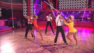 The Troupe Perform - Jason Gilkison Routine-DWTS 15, 1st Week Results.