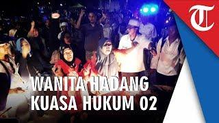 Riuh Pendukung 02 saat Bambang Widjojanto Tinggalkan Rumah Kertanegara