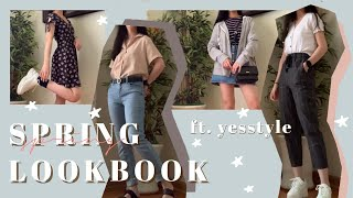 Korean Fashion Inspired Lookbook | (w YESSTYLE) Spring Lookbook 2020 🌸☀️