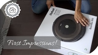 Unboxing and Trying The Roomba 890 Robot Vacuum!