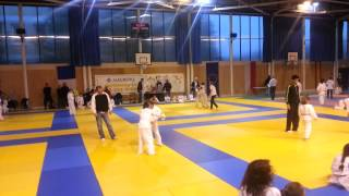 preview picture of video '1ère compétition de judo de Jamie: Tournoi de judo poussin de Maurepas'