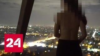Оргия на чуде света: датские туристы неуважительно отнеслись к пирамиде Хеопса - Россия 24
