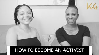 How to Become an Activist
