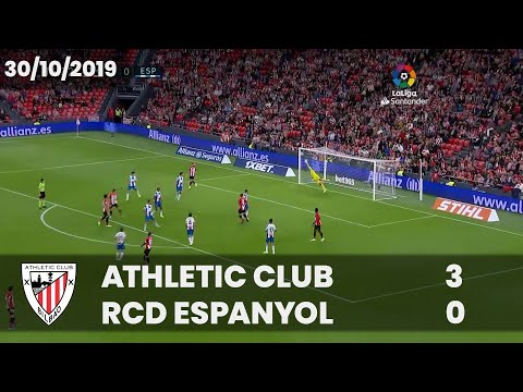 ⚽ FULL MATCH I LaLiga 19/20 I J11. Athletic Club 3 – RCD Espanyol 0