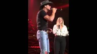 Tim McGraw and his daughter Gracie